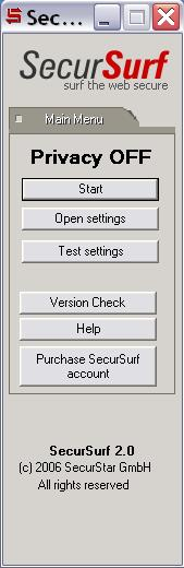 SecurSurf, encryption software, anonymous surf, securstar, encryption, ssh proto