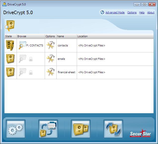 DriveCrypt - SecurStar.com